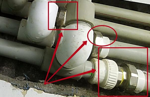 3 ошибки монтажа отопления из труб полипропилена